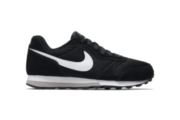 NIKE NIKE MD RUNNER 2 (GS) BLACK/WHITE WOLF GREY