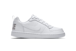 NIKE NIKE RECREATION LOW(GS) White/White White