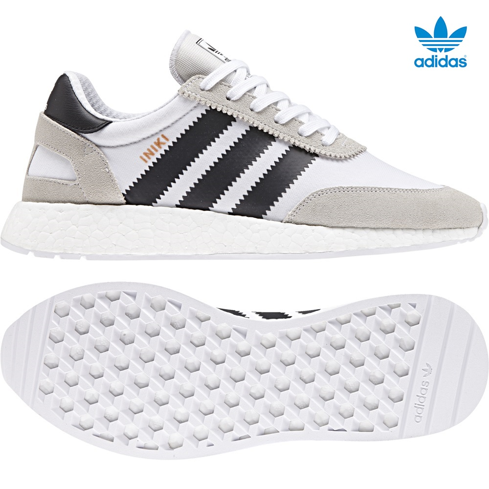 Zapatillas ADIDAS modelo Iniki I-5923 en color blanco