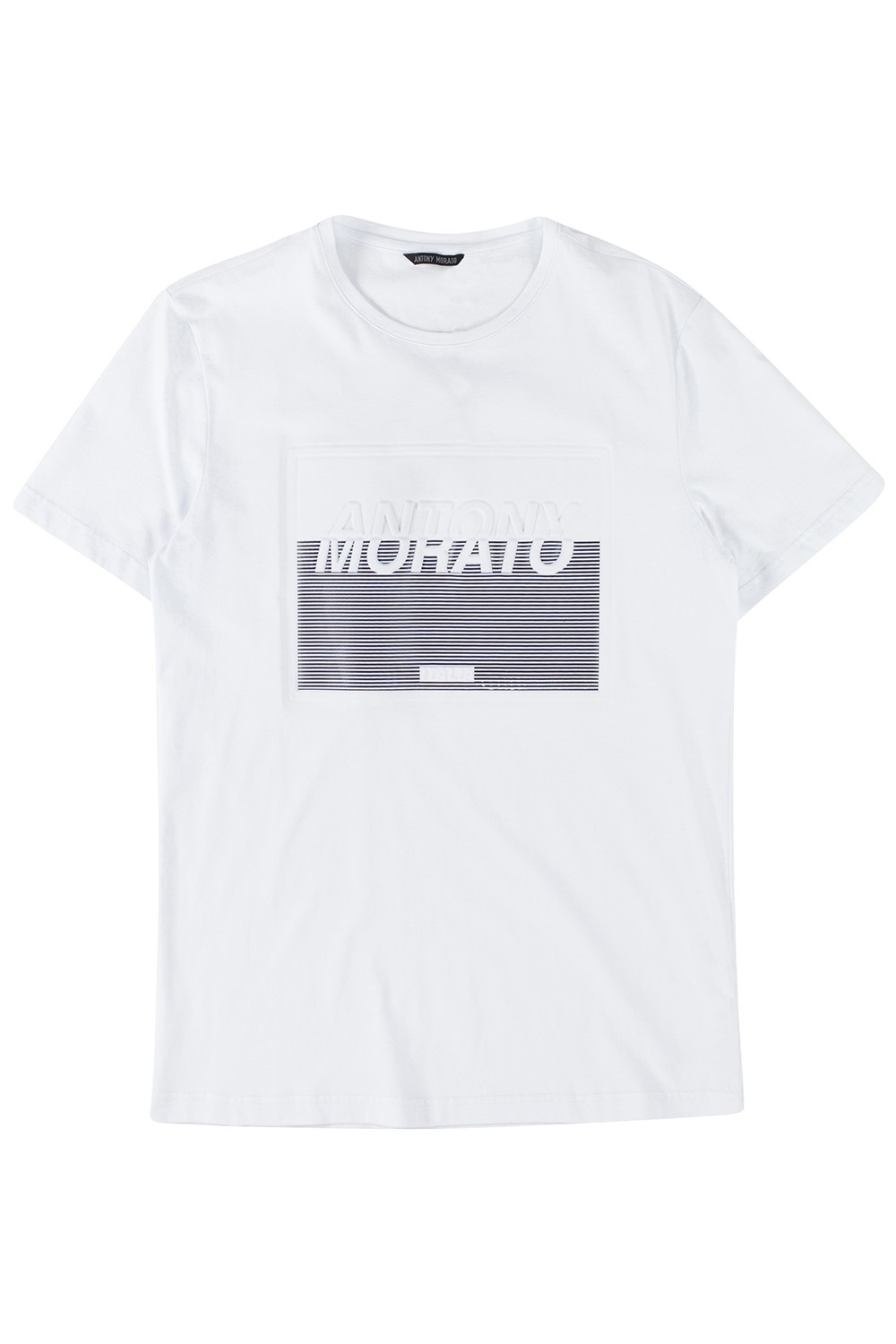 ANTONY MORATO 'T-SHIRT CON STAMPA EMBOSSED AN BLANCO