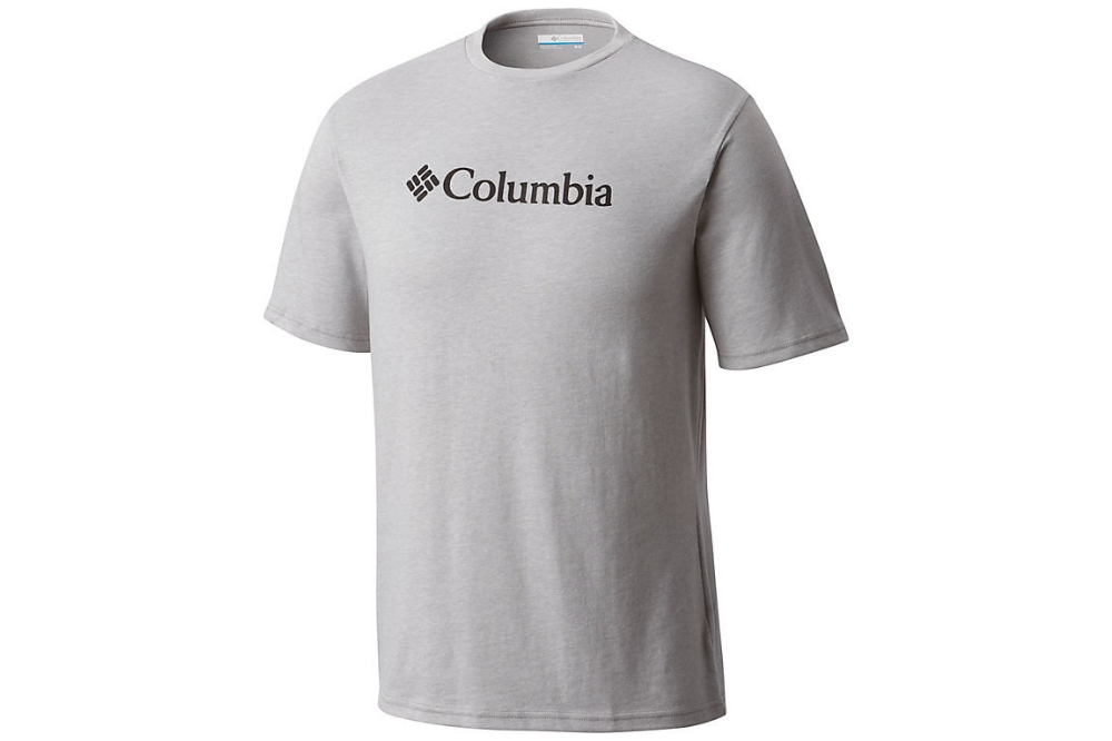 COLUMBIA CSC BASIC LOGO TEE -COLUMBIA GREY H