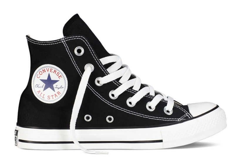 Zapatillas Converse modelo Chuck Taylor All Star Hi en color negro-e