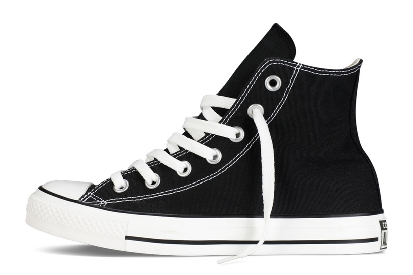 Zapatillas Converse modelo Chuck Taylor All Star Hi en color negro