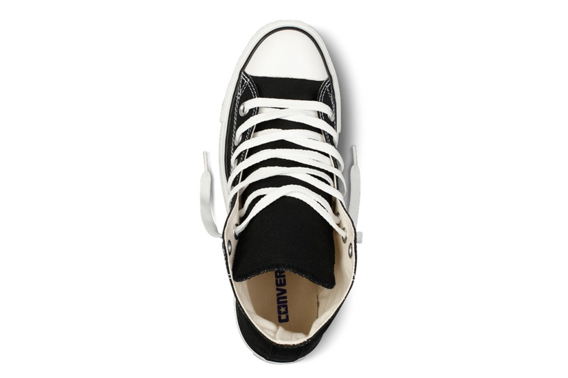 Zapatillas Converse modelo Chuck Taylor All Star Hi en color negro-d