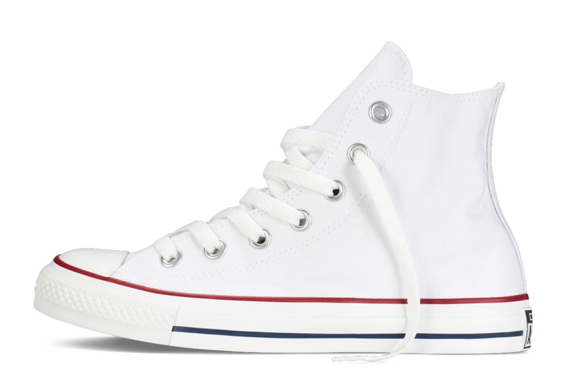 Zapatillas Converse modelo Chuck Taylor All Star Hi en color blanco