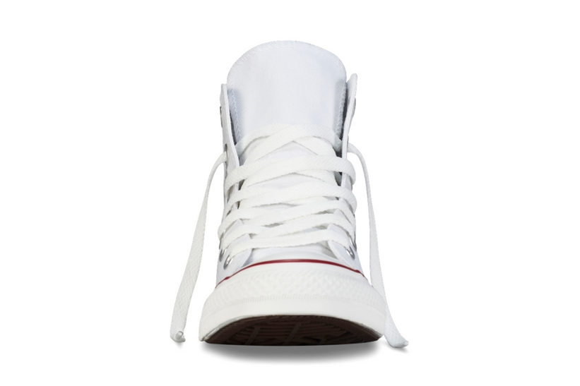 Zapatillas Converse modelo Chuck Taylor All Star Hi en color blanco-b