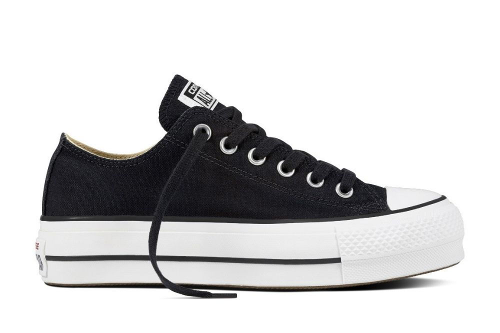 CONVERSE CHUCK TAYLOR ALL STAR LIFT BLACK/WHITE/