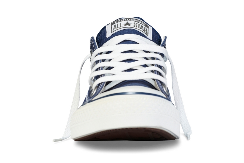 Zapatillas Converse modelo All Star ox en color azul marino-b