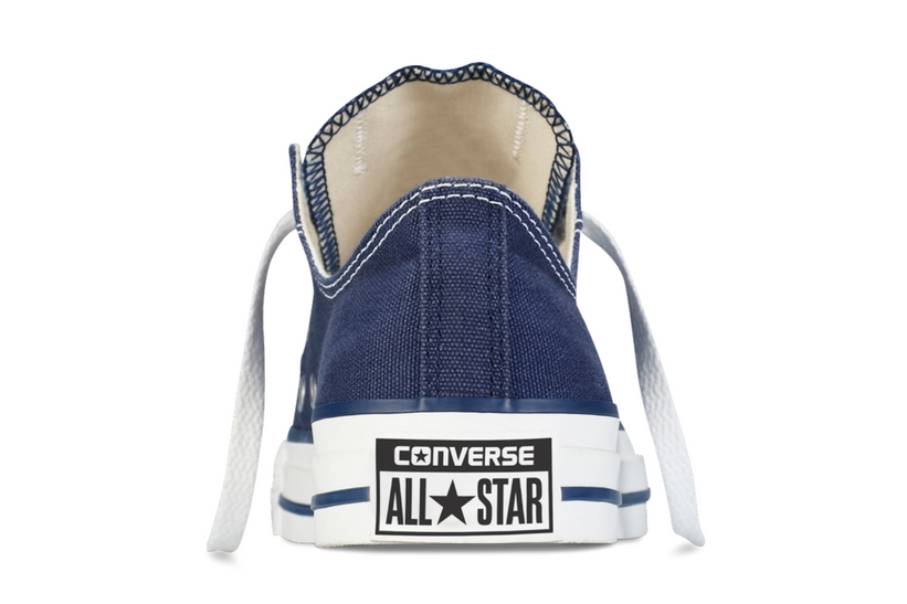 Zapatillas Converse modelo All Star ox en color azul marino-c