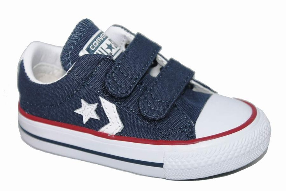 CONVERSE STAR PLYR EV OX NAVY/WHITE