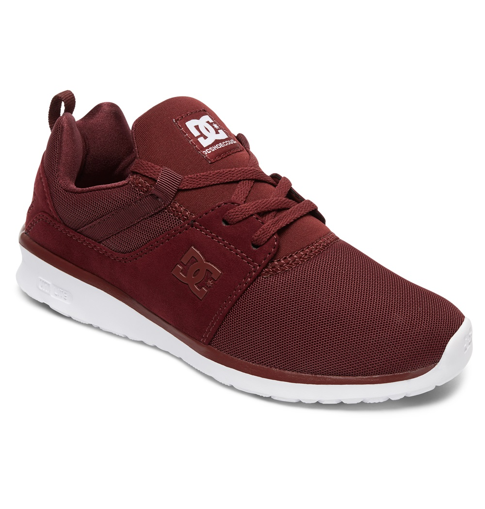 Zapatillas Dc Shoes modelo Heathrow en color burdeos para hombre-e