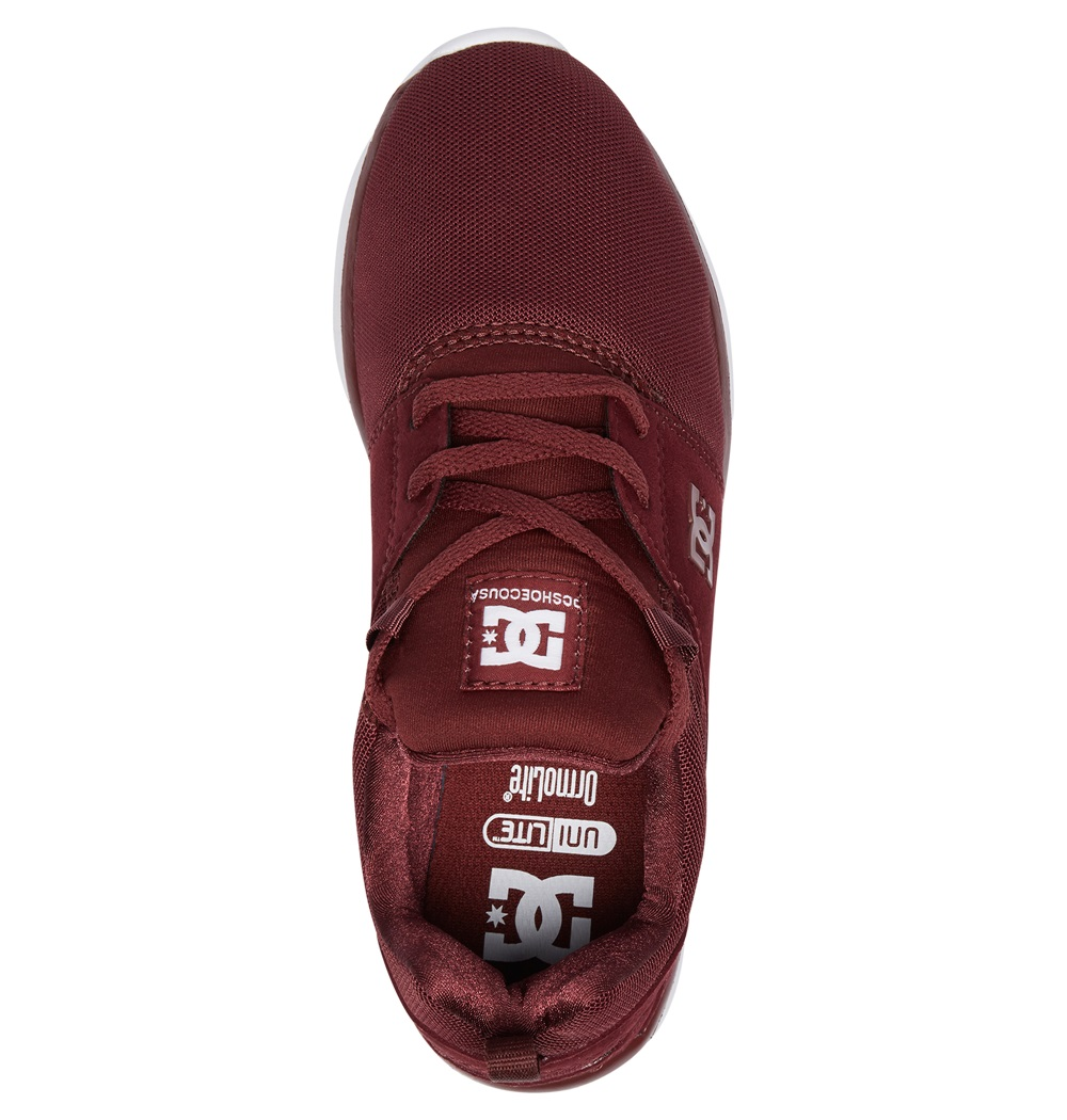 Zapatillas Dc Shoes modelo Heathrow en color burdeos para hombre-c