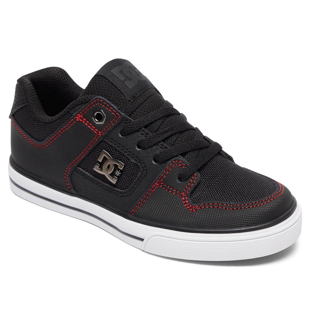 Zapatillas Dc Shoes modelo Pure SE en color negro para junior-e