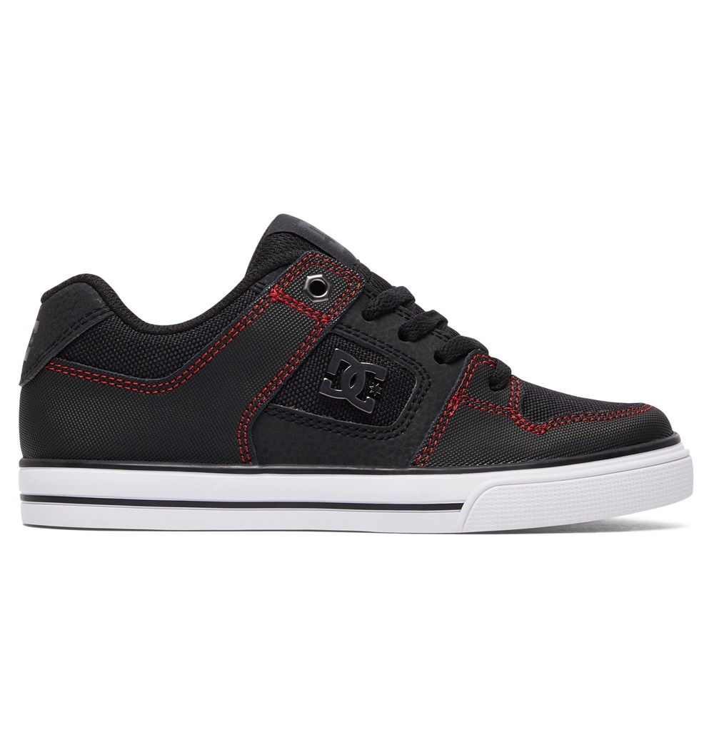 Zapatillas Dc Shoes modelo Pure SE en color negro para junior