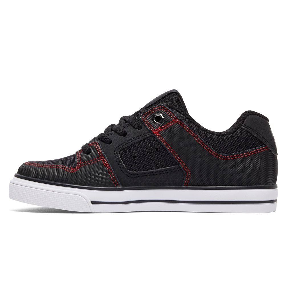 Zapatillas Dc Shoes modelo Pure SE en color negro para junior-b