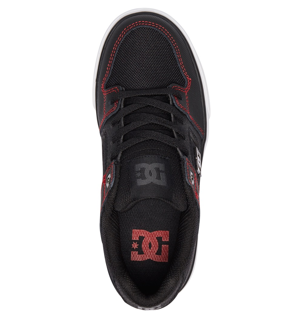Zapatillas Dc Shoes modelo Pure SE en color negro para junior-c