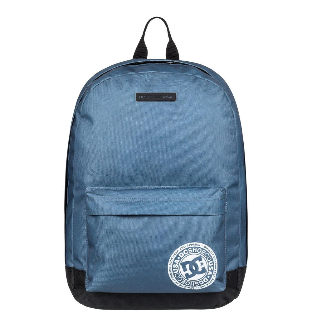 Mochila Dc Shoes modelo Backstack en color azul-e