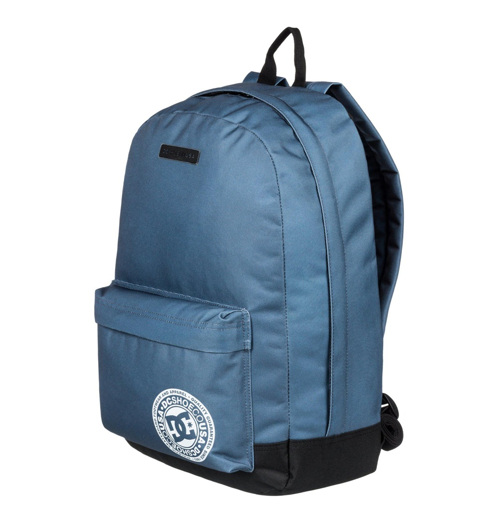 Mochila Dc Shoes modelo Backstack en color azul