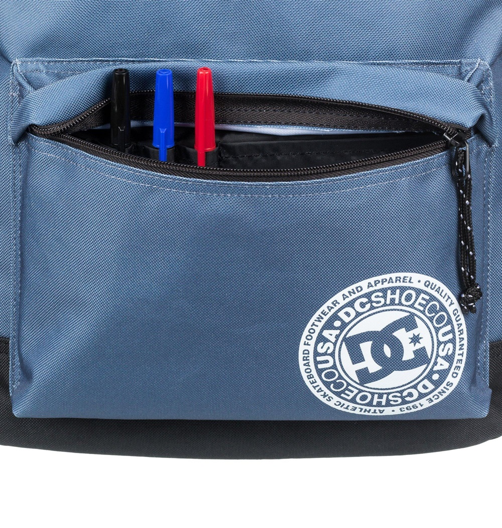 Mochila Dc Shoes modelo Backstack en color azul-c