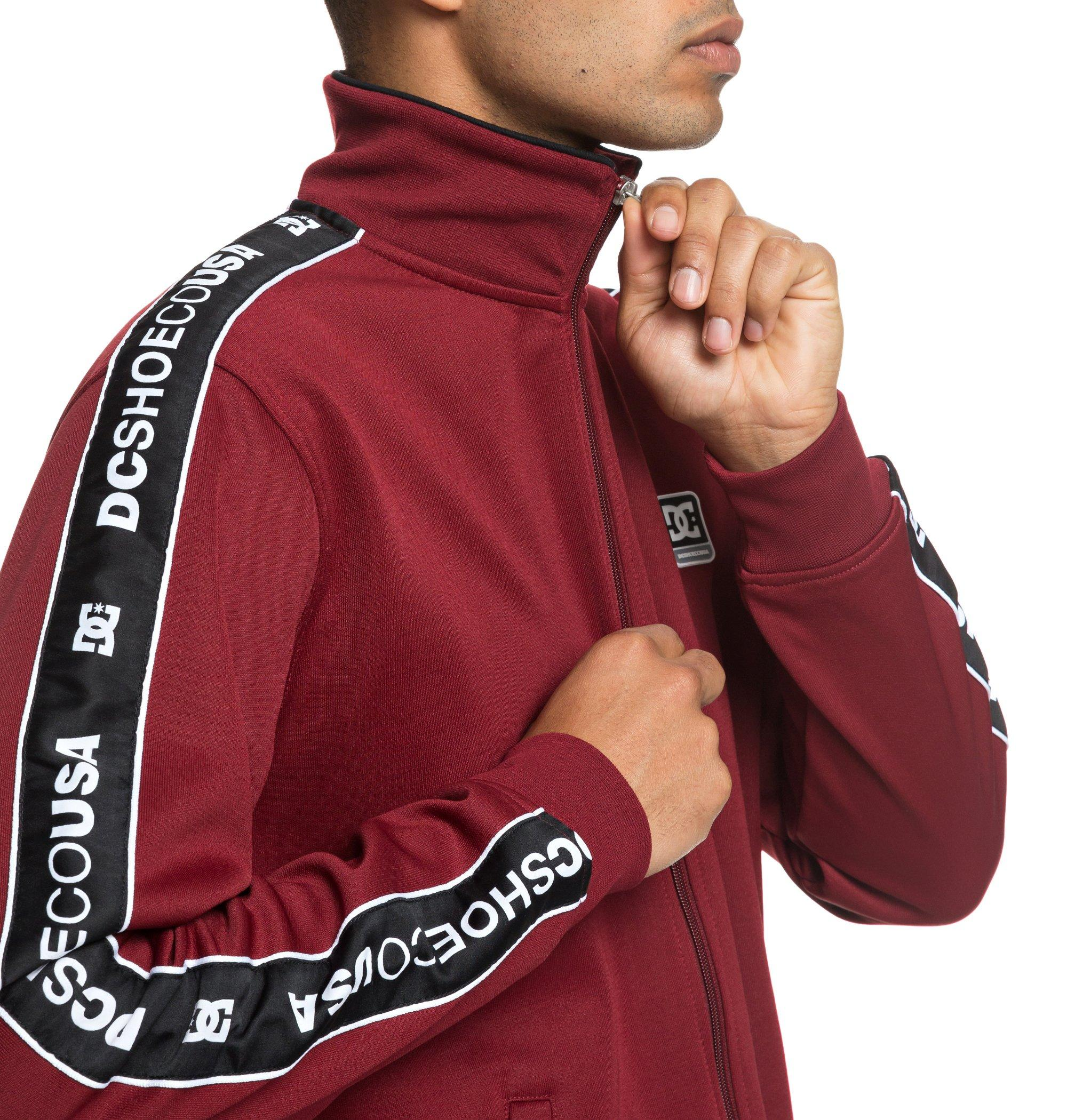 Chaqueta Dc Shoes modelo Bellingham en color burdeos-c