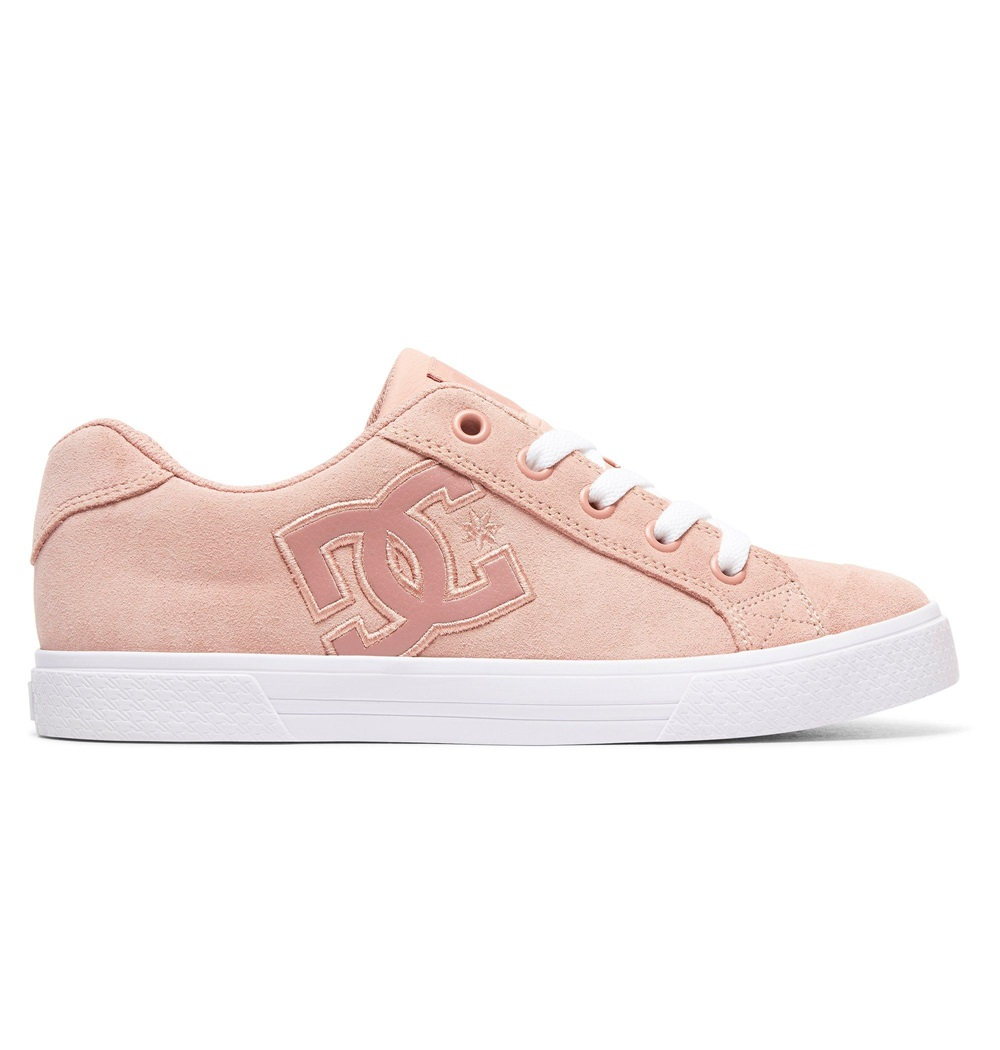 Zapatillas Dc Shoes modelo Chelsea SE J en color rosa para junior. Ref: 302252-PPF-b