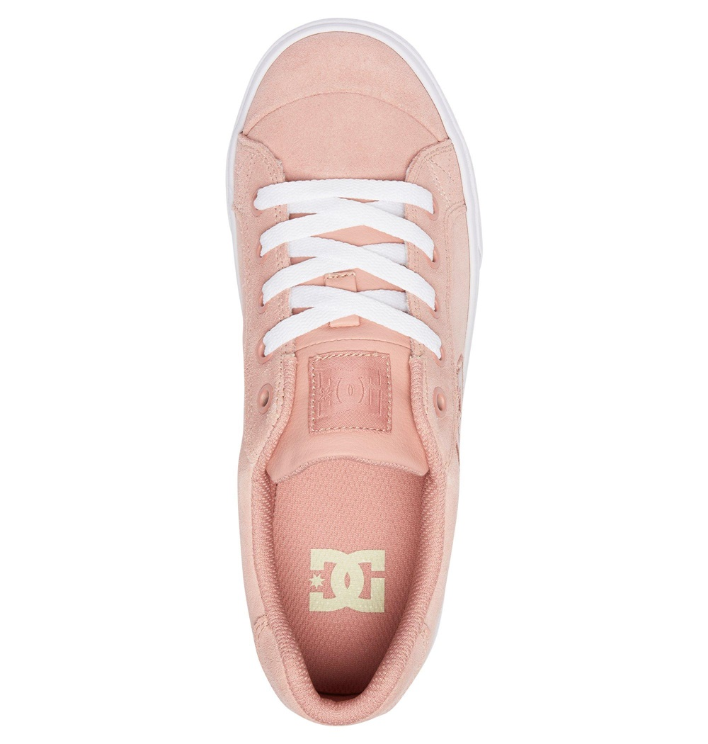 Zapatillas Dc Shoes modelo Chelsea SE J en color rosa para junior. Ref: 302252-PPF-d