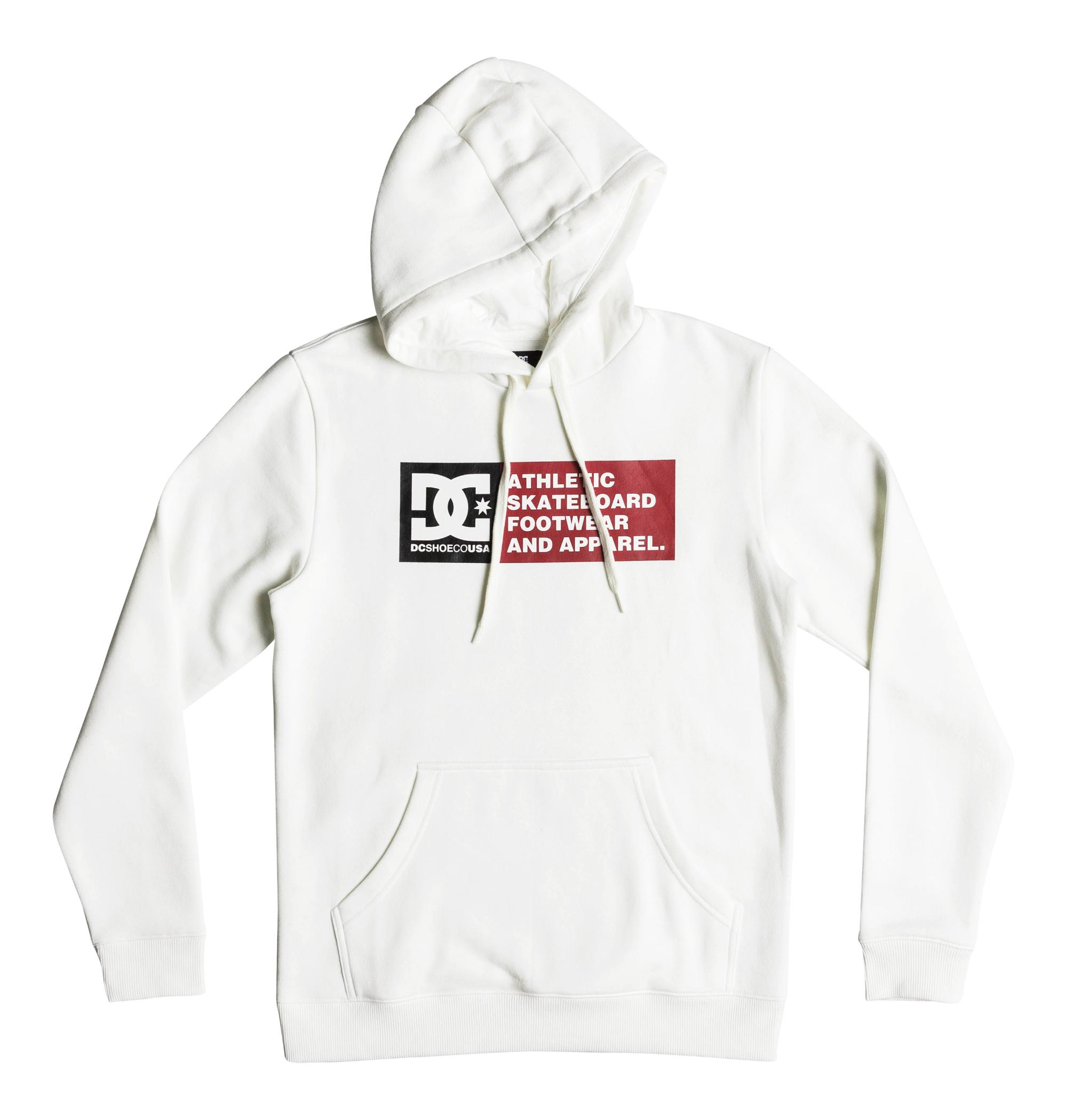 Sudadera Dc Shoes modelo Vertical Zone en color blanco para hombre-h