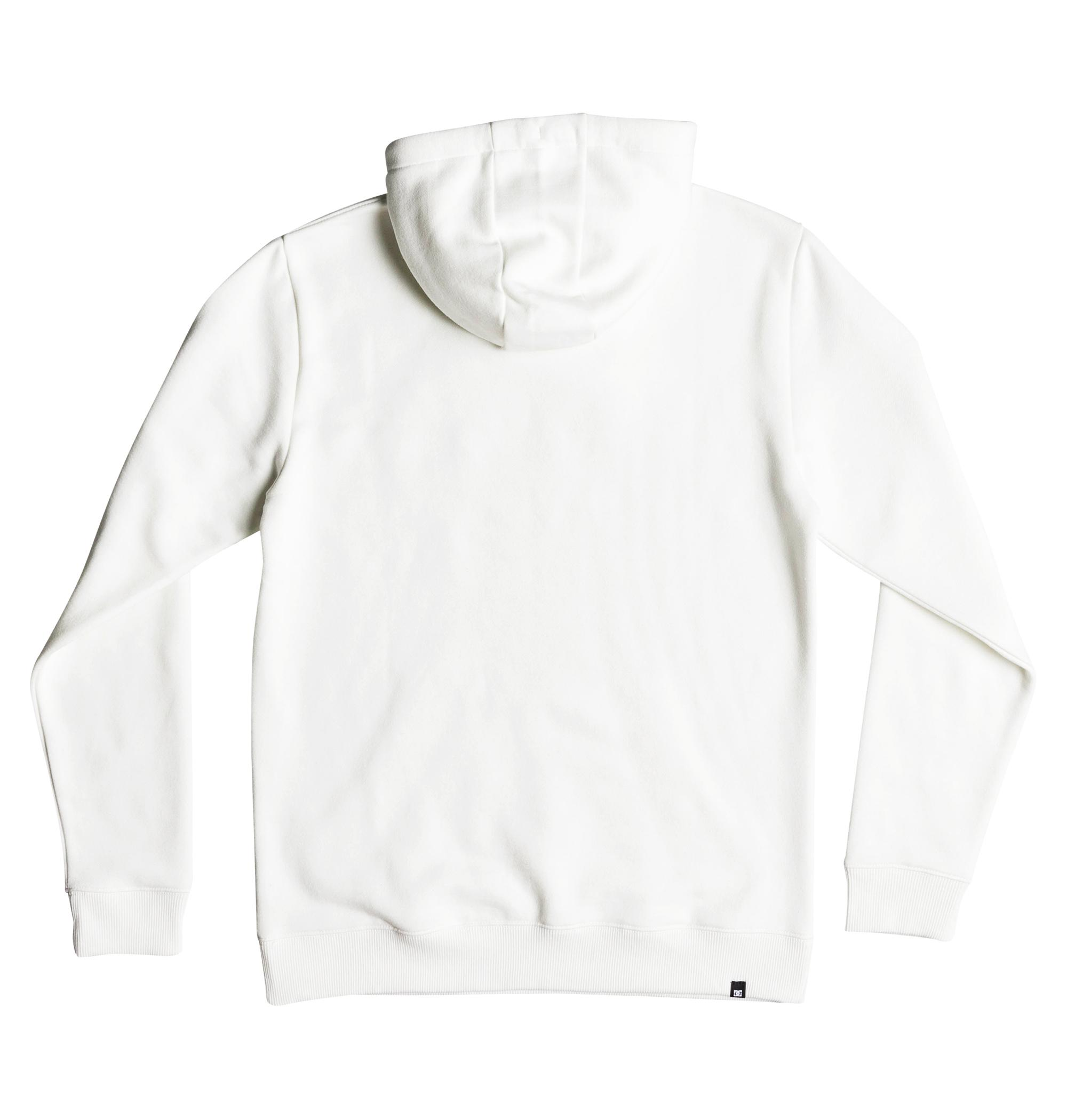 Sudadera Dc Shoes modelo Vertical Zone en color blanco para hombre