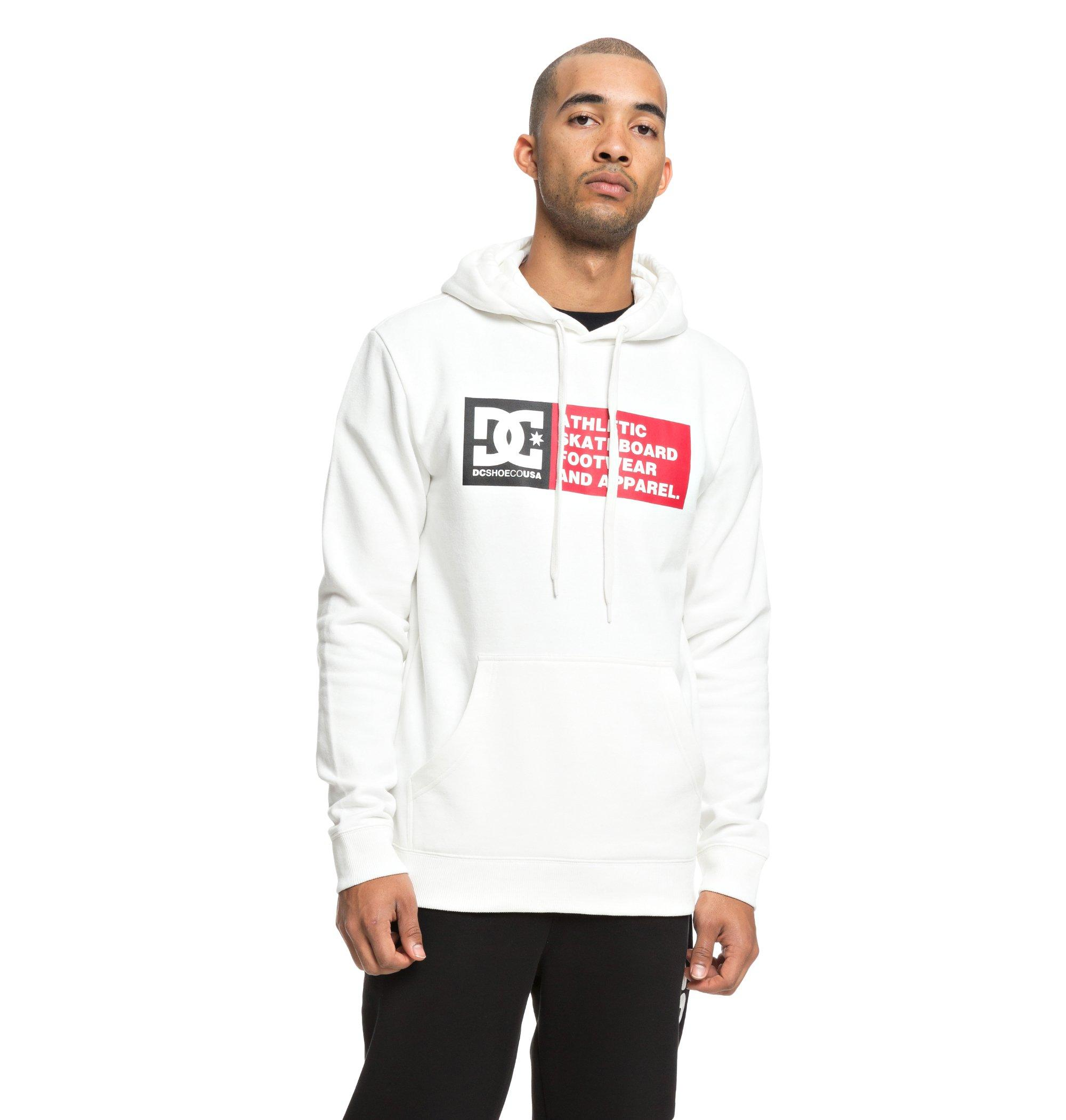 Sudadera Dc Shoes modelo Vertical Zone en color blanco para hombre-e