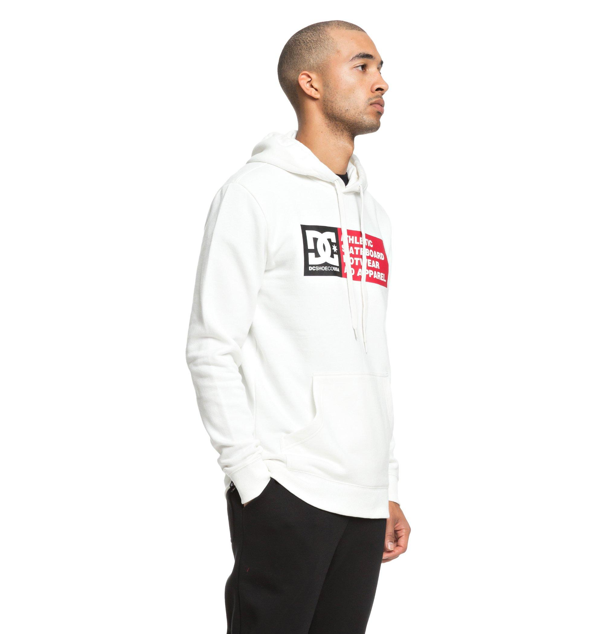 Sudadera Dc Shoes modelo Vertical Zone en color blanco para hombre-f