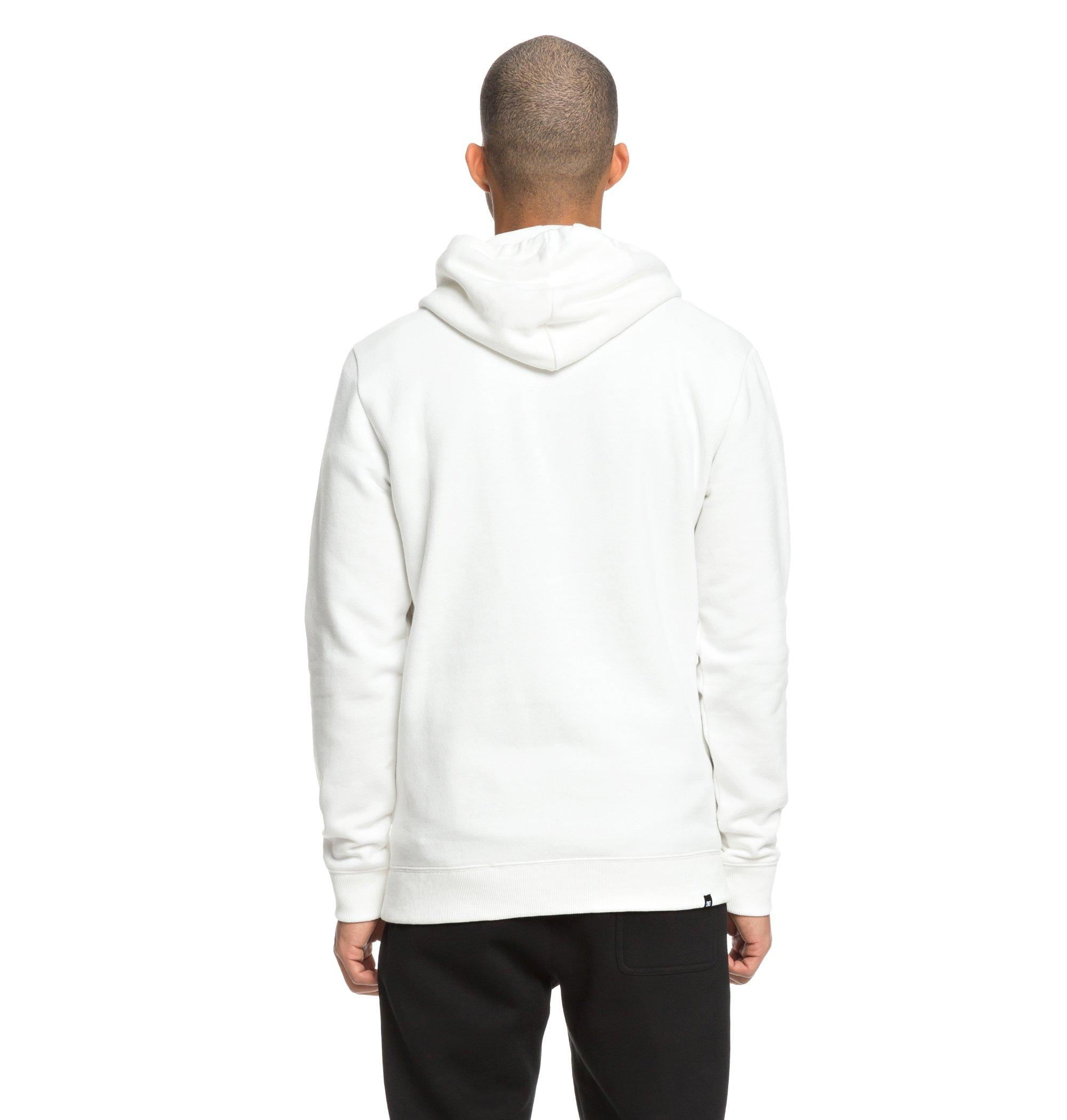 Sudadera Dc Shoes modelo Vertical Zone en color blanco para hombre-g