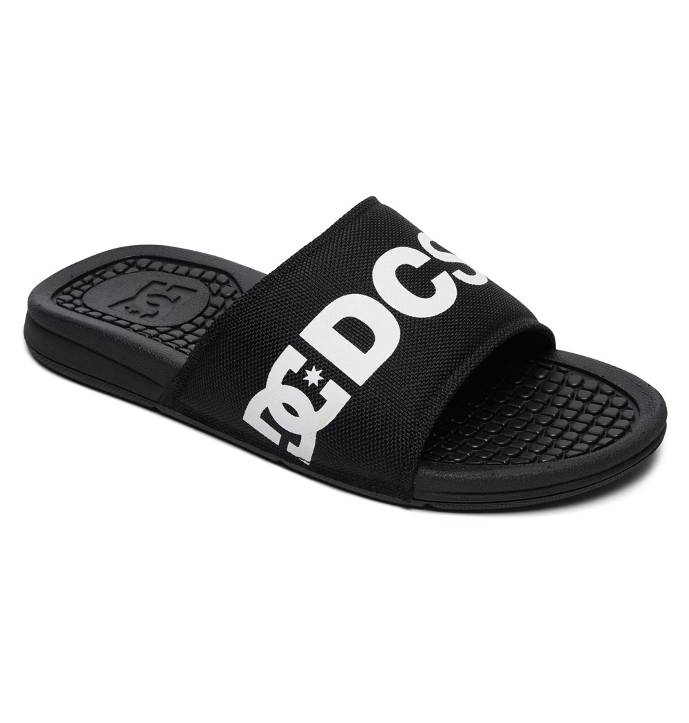 Chanclas Dc Shoes modelo Bolsa SP en color negro para hombre-d