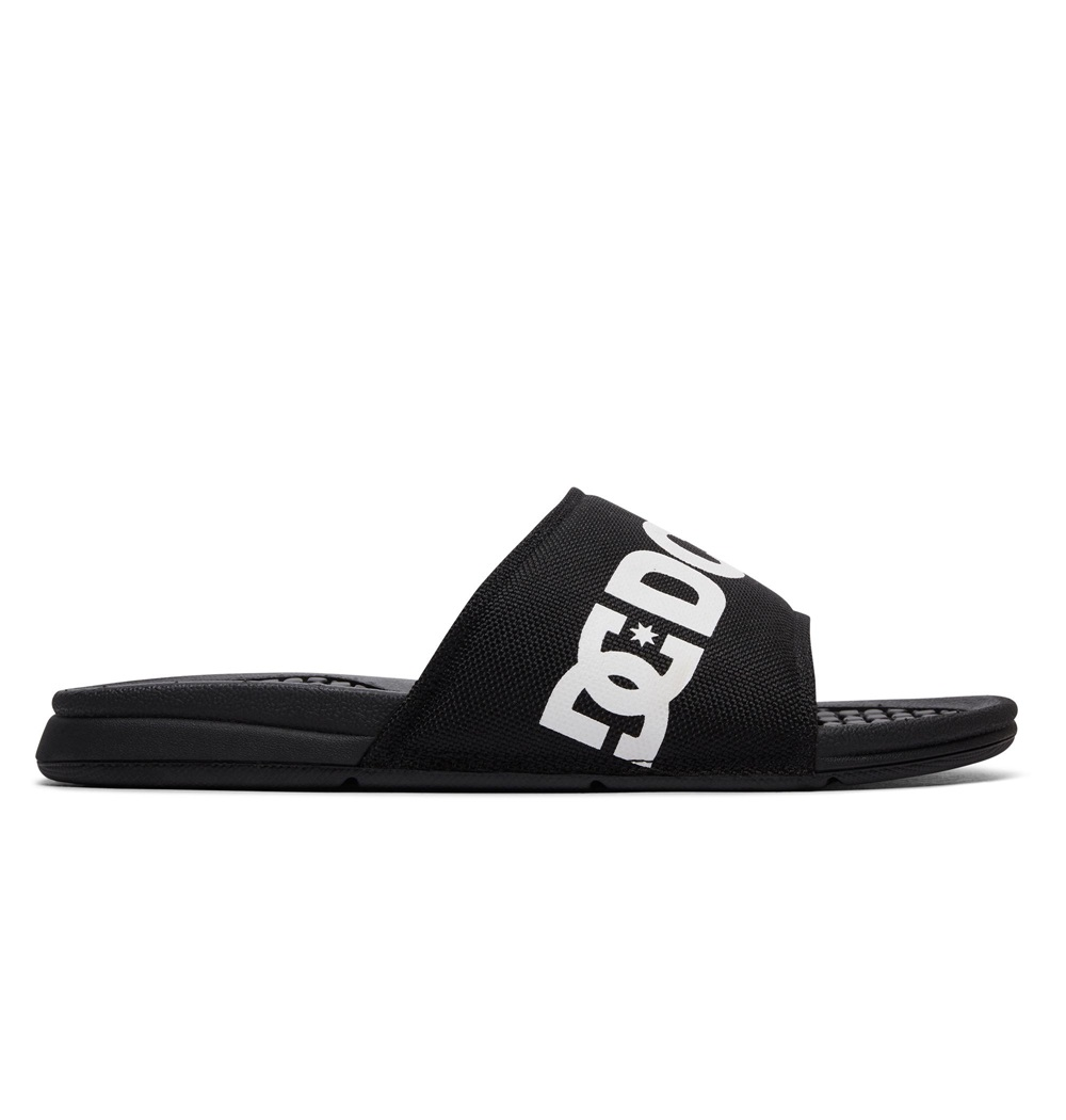 Chanclas Dc Shoes modelo Bolsa SP en color negro para hombre