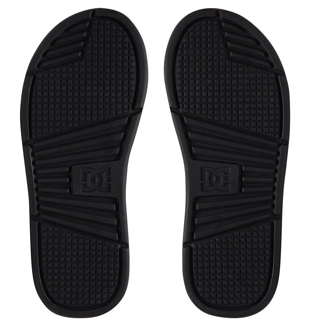 Chanclas Dc Shoes modelo Bolsa SP en color negro para hombre-c