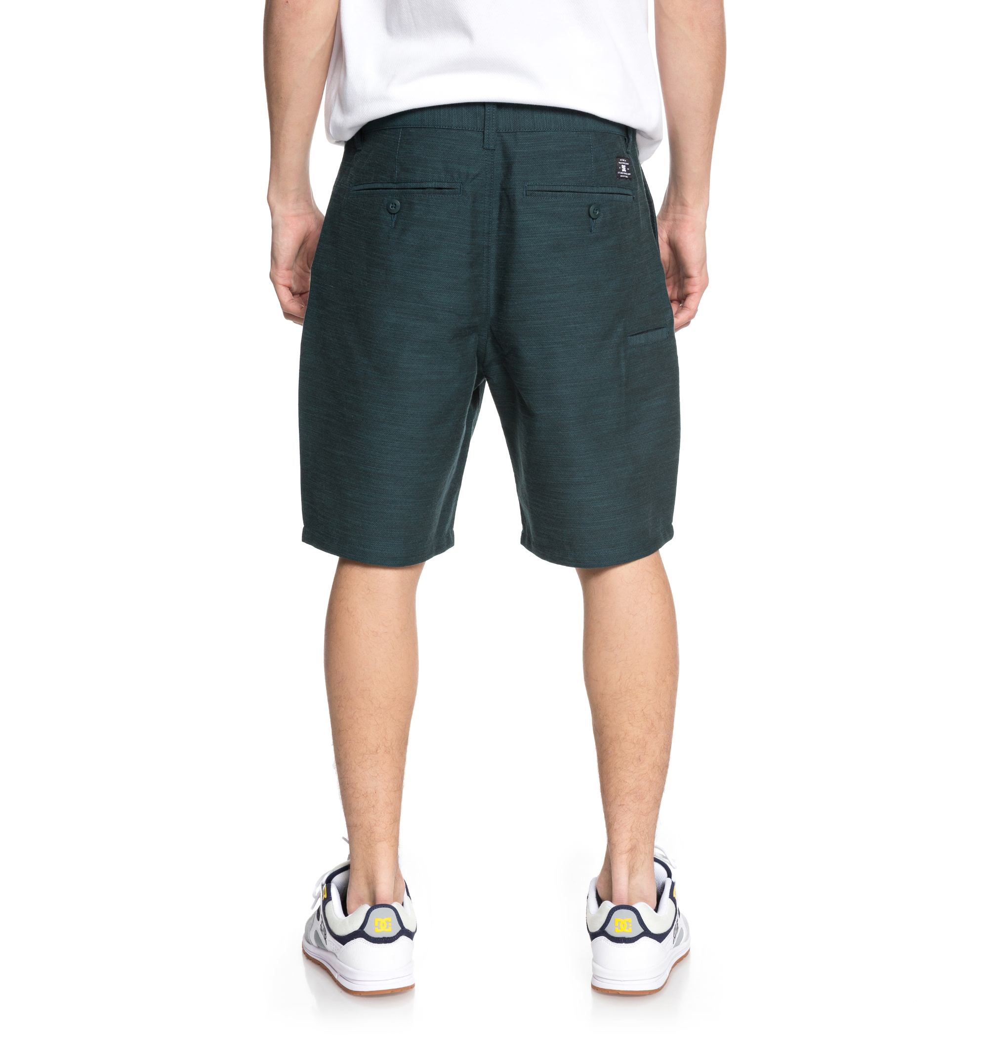 Pantalón Dc Shoes modelo Space Dot en color verde para hombre-d