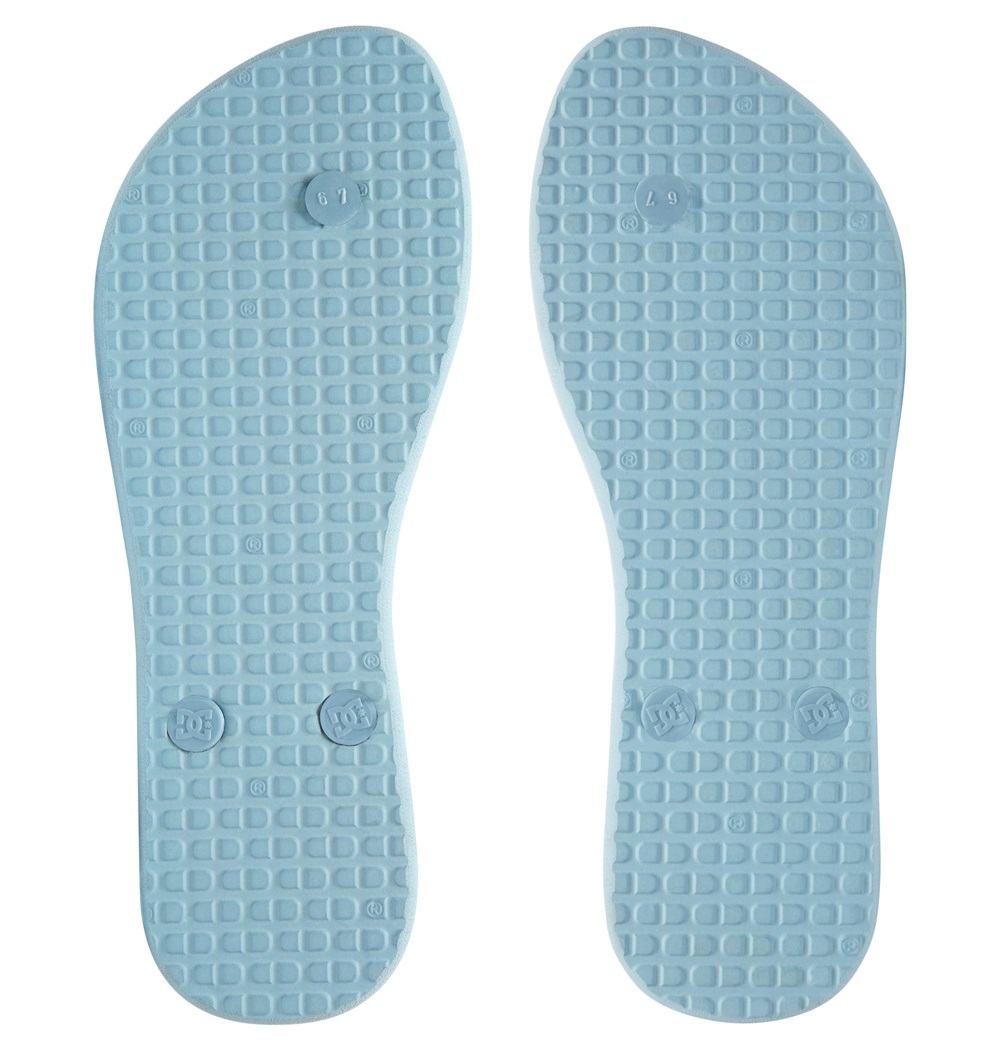 Chanclas Dc Shoes modelo Spray Graffik Sandal en color azul claro para mujer-c