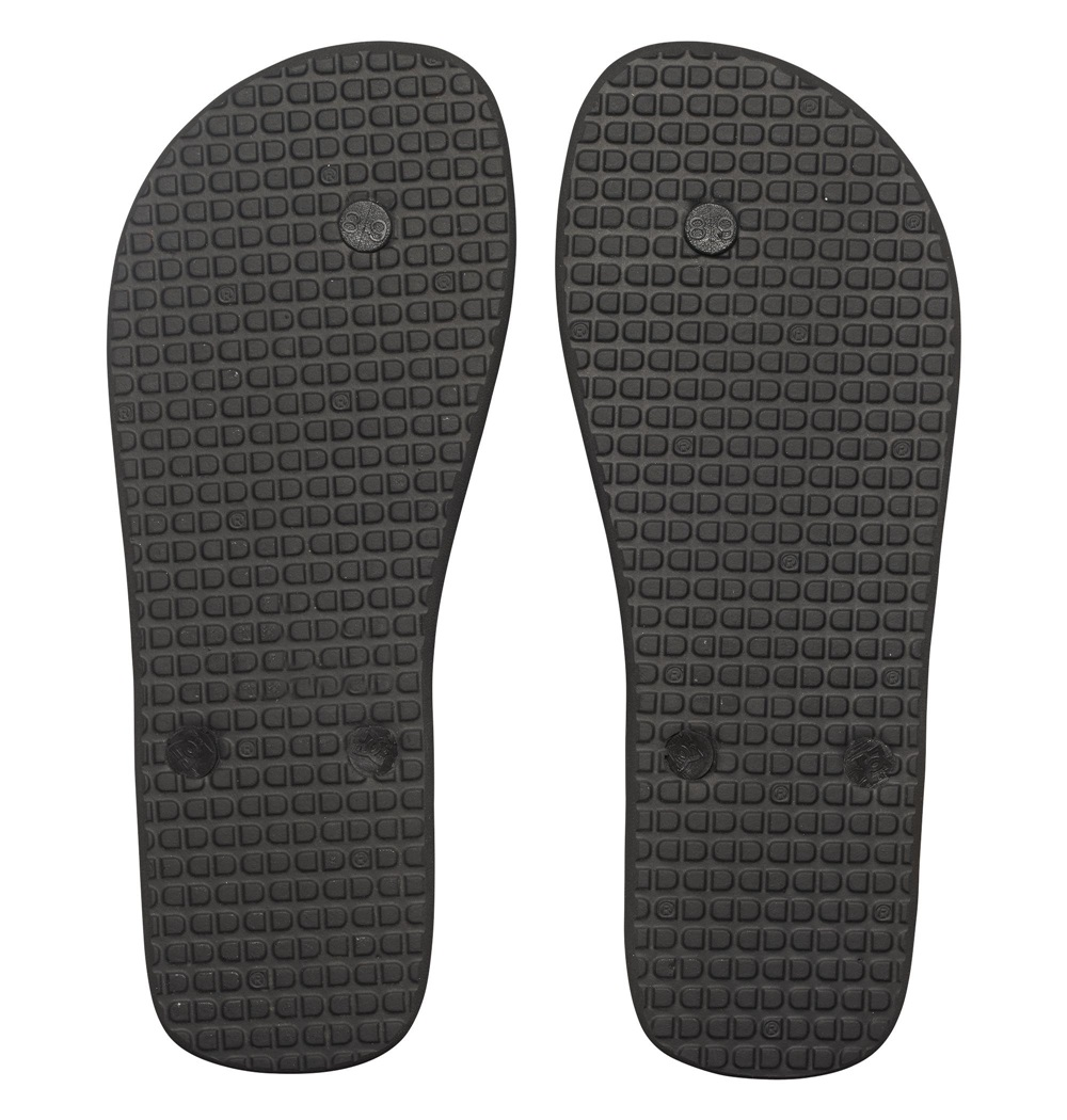 Chanclas Dc Shoes modelo Spray en color negro con blanco para hombre-c