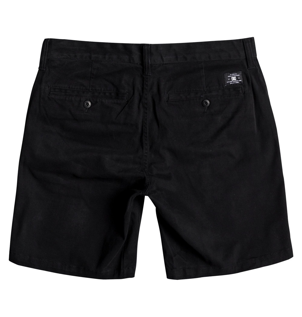 Pantalón corto Dc Shoes modelo Worker Slim 17 en color negro para hombre