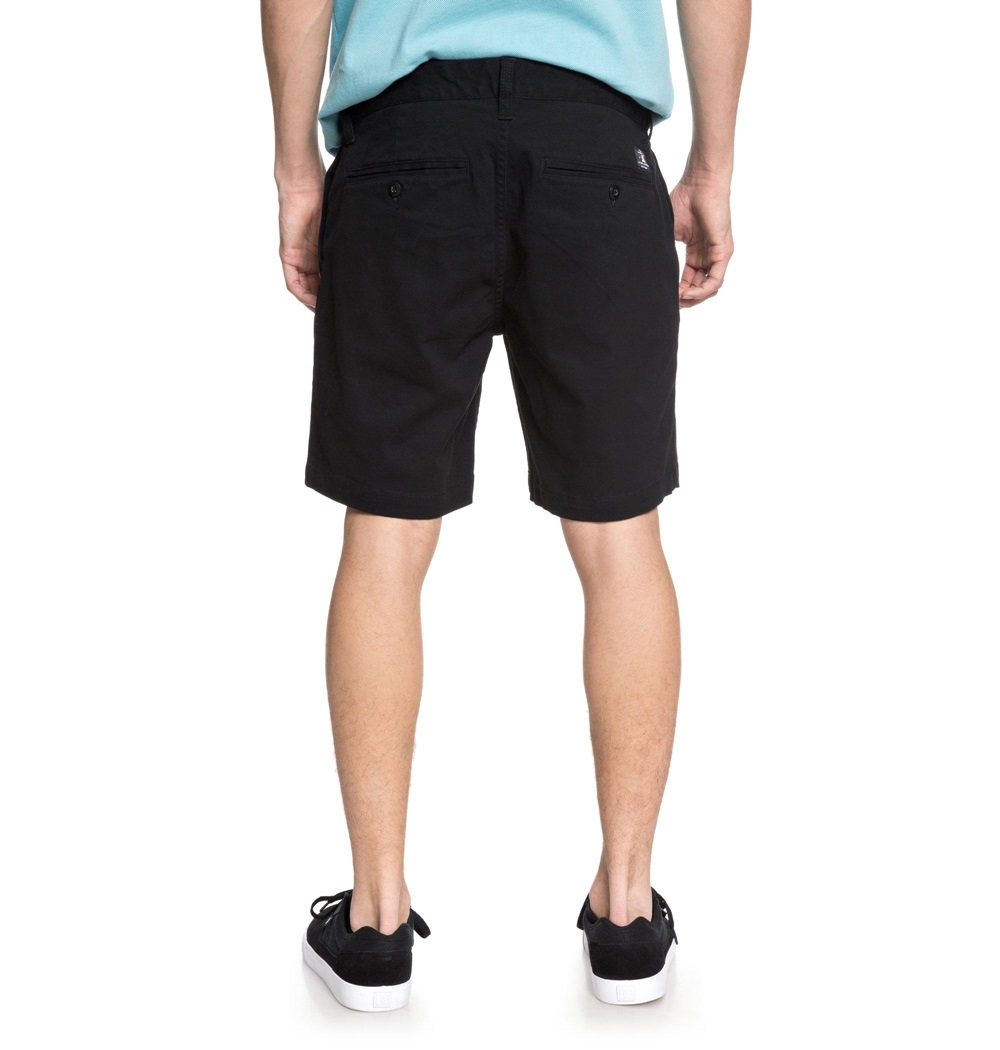 Pantalón corto Dc Shoes modelo Worker Slim 17 en color negro para hombre-b