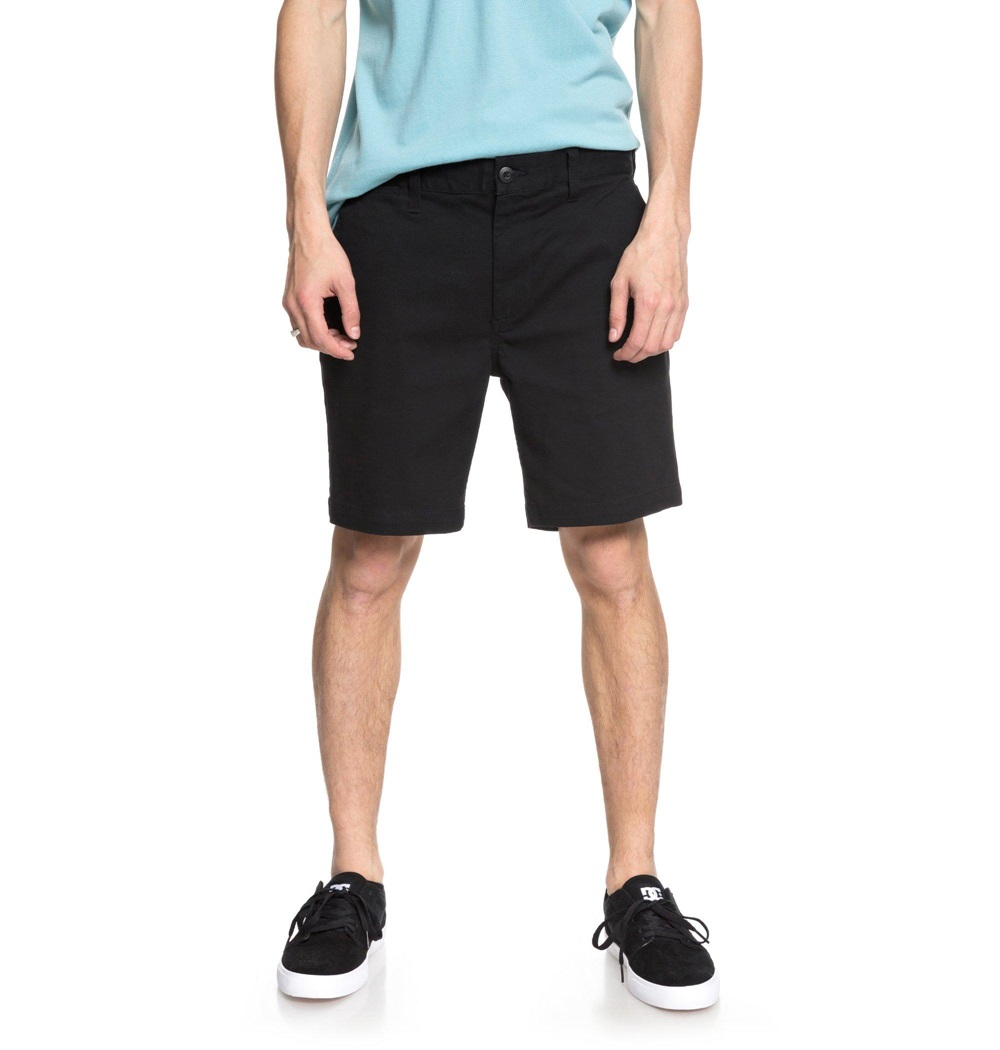 Pantalón corto Dc Shoes modelo Worker Slim 17 en color negro para hombre-c