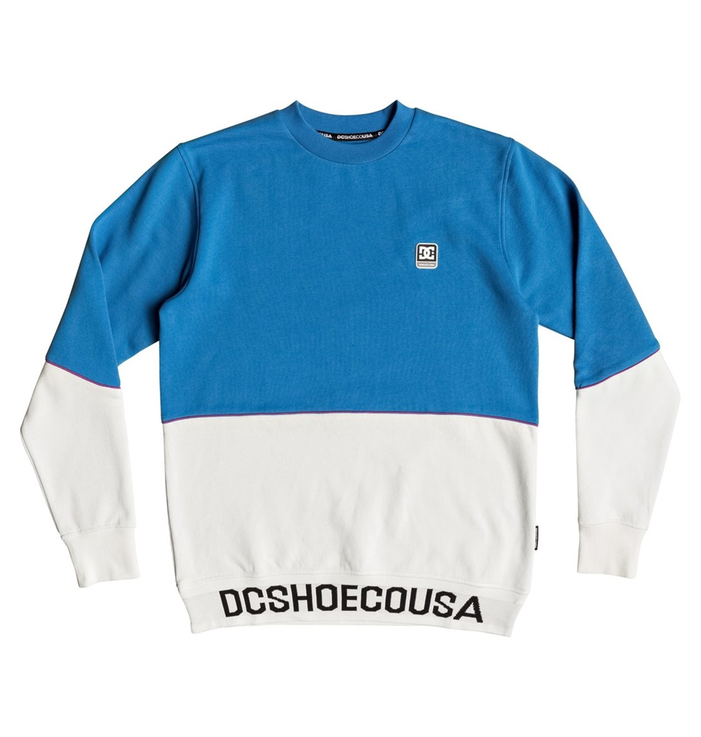 DC SHOES GLYNROAD CREW SNOW WHITE