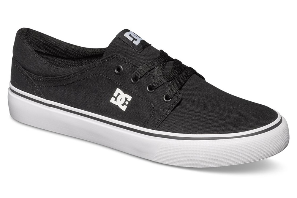 DC SHOES TRASE TX BLACK/WHITE