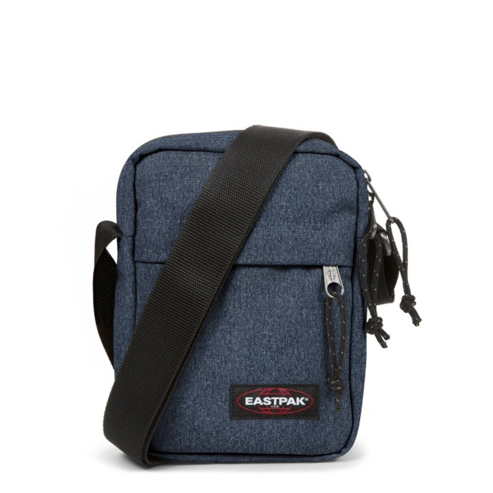 Bandolera Eastpak modelo The One en color azul vaquero-e