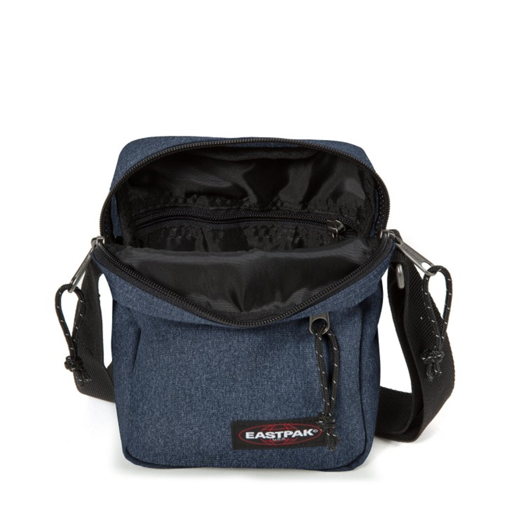 Bandolera Eastpak modelo The One en color azul vaquero-b