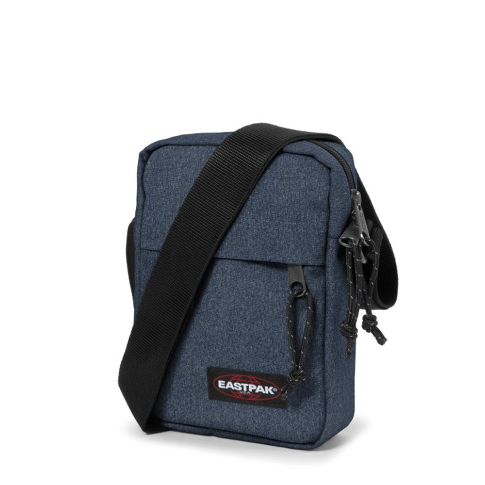Bandolera Eastpak modelo The One en color azul vaquero-d