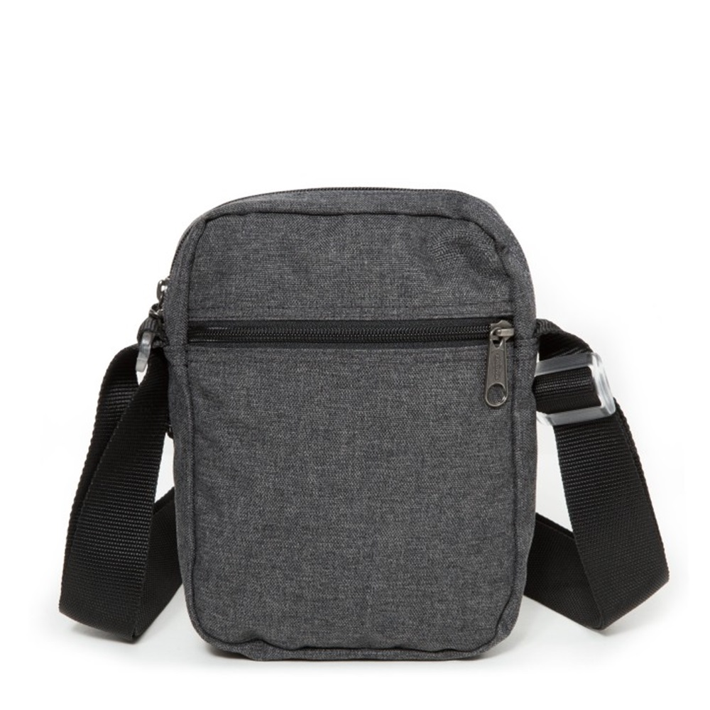 Bandolera Eastpak modelo The One en color gris oscuro-b