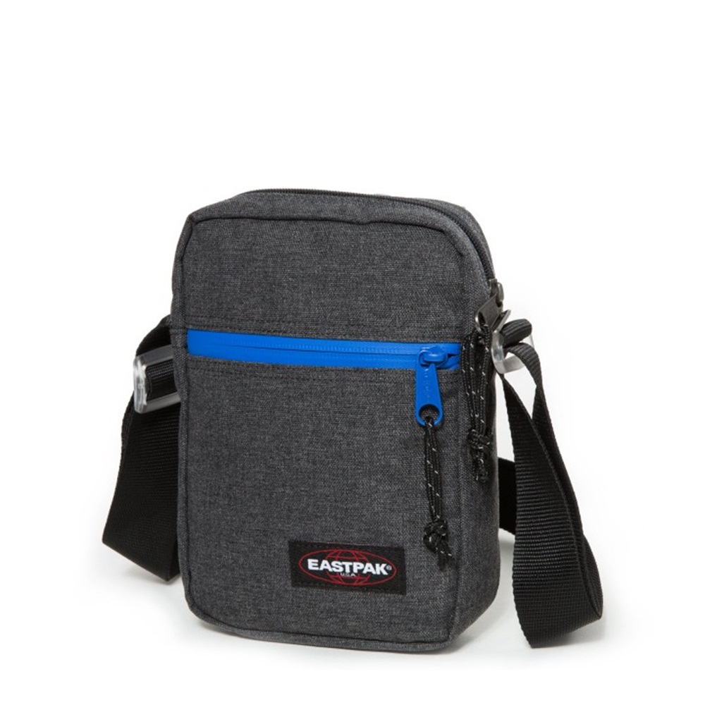 Bandolera Eastpak modelo The One en color gris oscuro-c