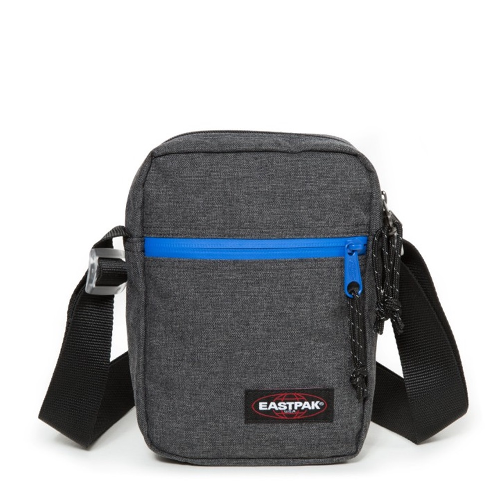 Bandolera Eastpak modelo The One en color gris oscuro-e