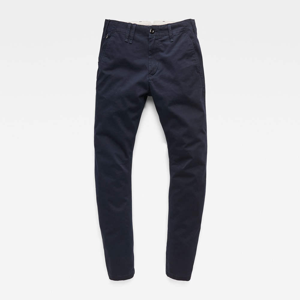 G-STAR VETAR SLIM CHINO MAZARINE BLUE