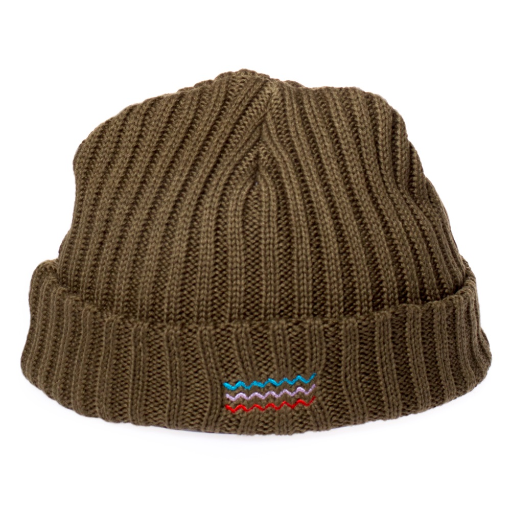 Gorro Grimey modelo Natural Fisher Beanie en color verde